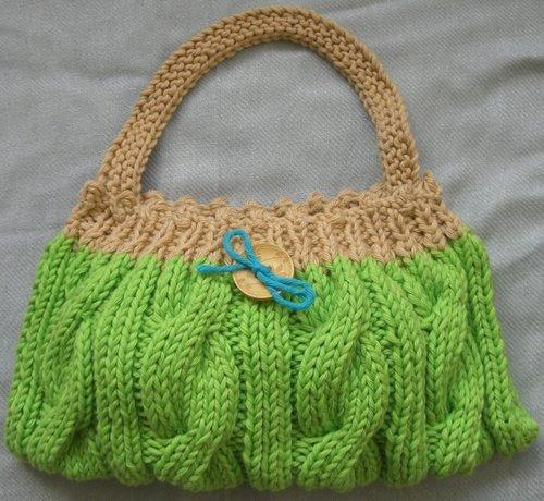 коллекция вязаных сумок из Интернета.  Для вдохновения, без схем.