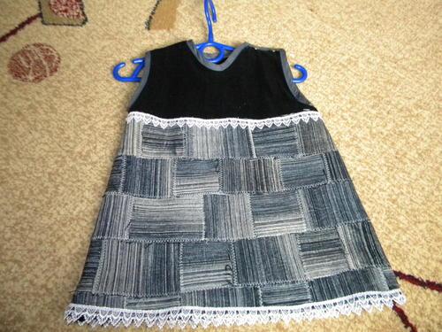 сарафан, для девочки, шьем сами.
