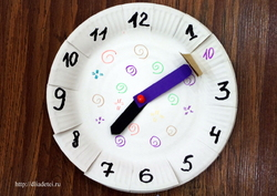Как сделать часы для ребенка в школу - Prom-komp.ru