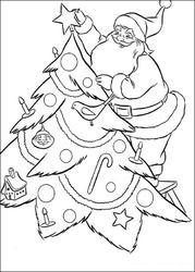 Новый год рисование раскраски