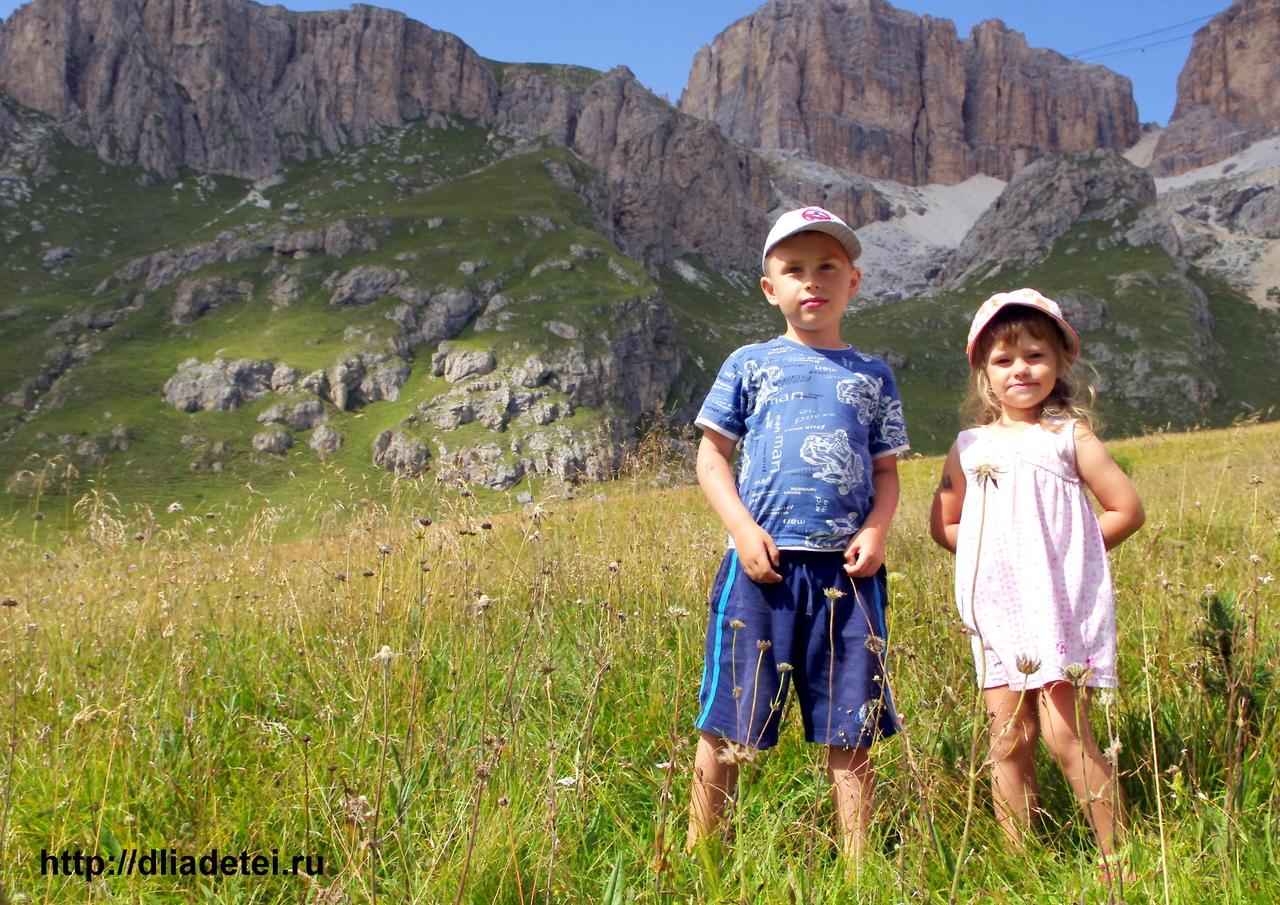 Путешествуем с детьми в горы