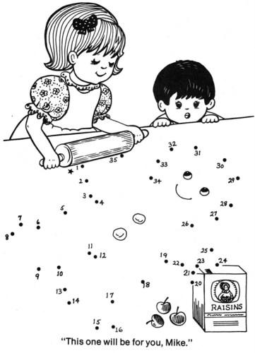 Рисуем по точкам для детей новый год