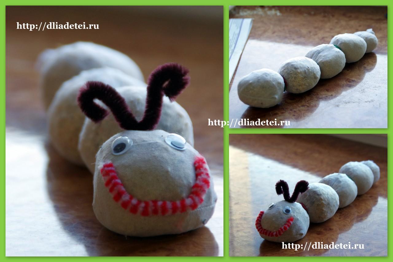 Гусеница из носка своими руками - Учебно-методический кабинет 82