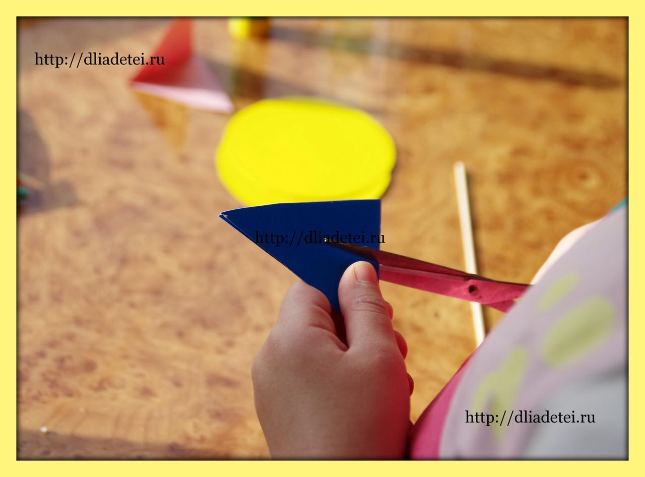 цветик семицветик +своими руками +из бумаги, +как сделать цветик семицветик +из бумаги, цветик семицветик занятие, цветик семицветик поделка