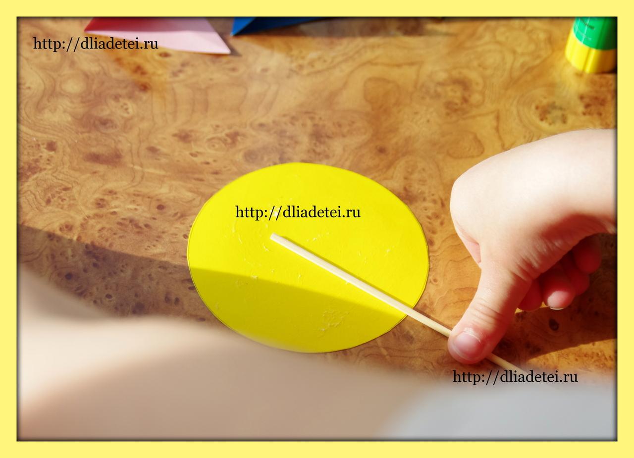 Как сделать семицветик из бумаги