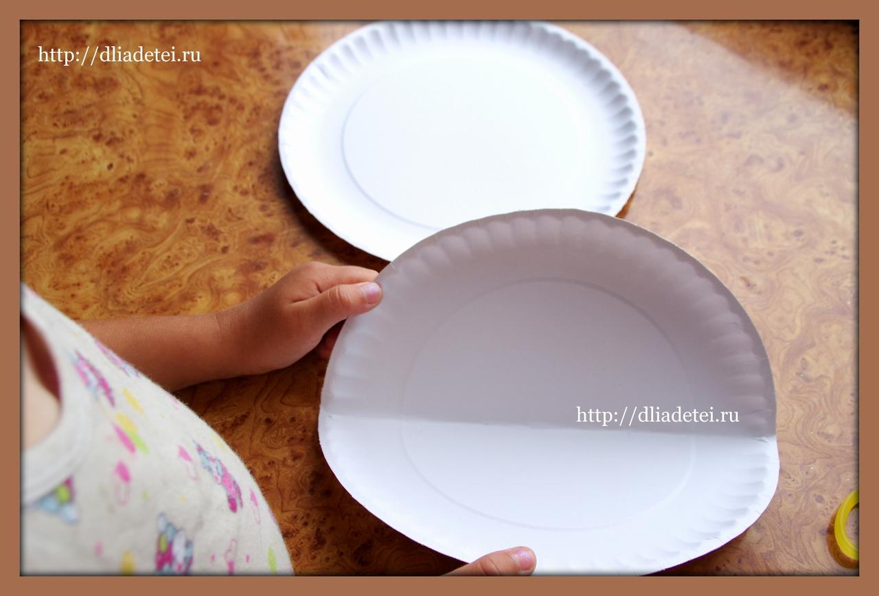 Совет 1: Как сделать тарелку