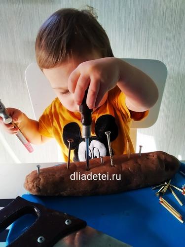 игра +с молотком,игры гвозди молоток, молотки +и гвоздики игра, игры +с соленым тестом, игры +с соленым тестом +для детей, +как сделать соленое тесто +для игры, сенсорная коробка +для малышей, сенсорная коробка +для малышей +своими руками, игры +в полтора года +для развития,игры +для детей полтора 2 года, игры +с ребенком +в полтора года,